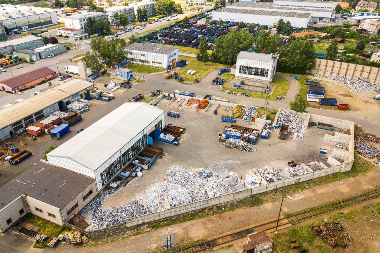 TSR Olomouc výkup barevných kovů